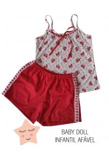 Atacado Baby doll inf. feminino