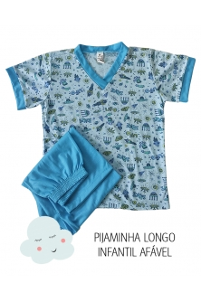 Atacado Pijama longo masc. infantil