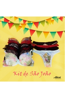kit com 10 conj.estampas diversas